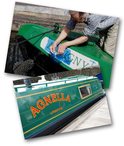 Canal Boat Graphics